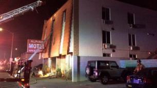 Otelde yangın faciası: 6 ölü