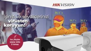 Oteller için akıllı çözüm: Hikvision Sıcaklık Tarama Terminalleri