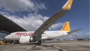 Pegasustan İngilterede yeni rota, Antalyaya sefer artışı!