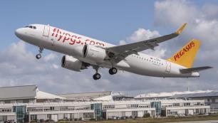 Pegasus Ukrayna'daki yeni uçuş noktasını açıkladı