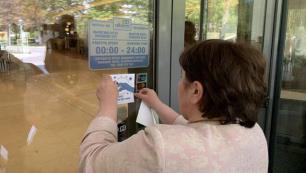 Personeli aşılı otele özel işaret!