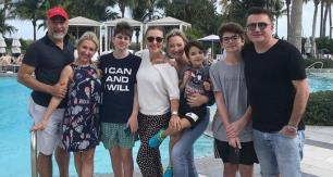 Ersoy ailesi Miami tatilinde!