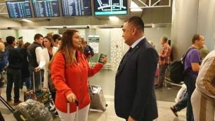 Rusyaya vizesiz giren ilk Türk yolcu oldu