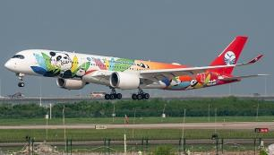 Sichuan Hava Yolları talep artınca Airbus A350 ile uçmaya başladı