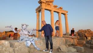 Sidede tarih sanatla buluşuyor
