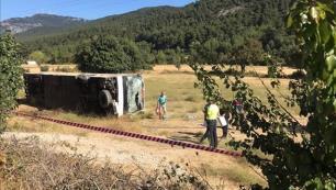 Feci kaza Tur otobüsü şoföründen acı haber!