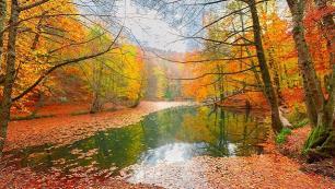Sonbaharı doğa içinde karşılayabileceğiniz seyahat rotaları