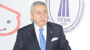 TESK Başkanı Bendevi Palandöken: Biletlerinizi tek bir isim üzerinden yazdırmayın