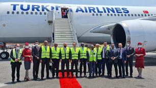 THY Afrikada 61. rotasına uçuşlara başladı
