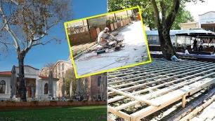 Topkapı Sarayında 'hızlandırılmış' restoran inşaatı tepki çekti!