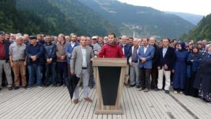 Trabzon Uzungölde yıkım kararına tepki
