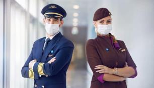 Tüm çalışanlarını aşılayan ilk havayolu oldu