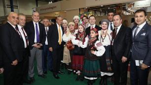 Turizmcilerden Ukrayna fuarına çıkarma