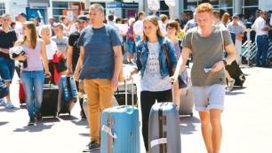 Türkiyeyi Şubatta ziyaret eden yabancı turist sayısı açıklandı