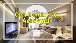 TÜROB, otel doluluk rakamlarını açıkladı!
