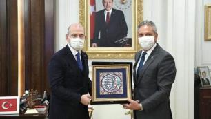 TÜRSAB Başkanı Bağlıkayadan Bakan Soyluya ziyaret
