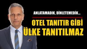 TÜRSAB Başkanı Firuz Bağlıkaya: ETS Tur reklamı yapar gibi ülke tanıtımı yapılmaz!