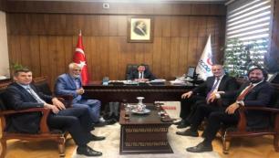 TÜRSAB heyetinden TCDD Başkanına ziyaret