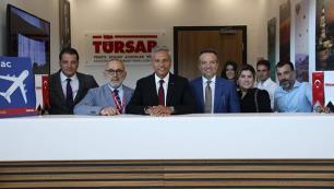 TÜRSABtan havalimanına yeni ofis