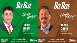 TÜRSAB yönetiminden demokratik yaklaşımBaşkan adayları TÜRSAB TVde