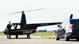 Uber helikopter seferlerine başlıyor