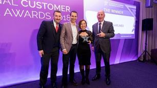 Uluslararası müşteri deneyimi ödülünü aldı