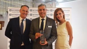 Wyndham Grand İstanbul Kalamış Marina Hotele 2018 Best Of Hotels Ödülü