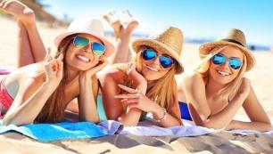 Yaz tatillerini Türkiyede geçirdiler